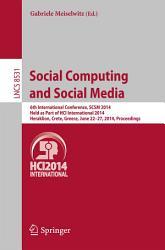 Social Computing and Social Media PDF