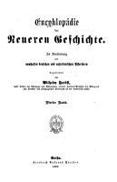 Encyklop  die der neueren Geschichte PDF
