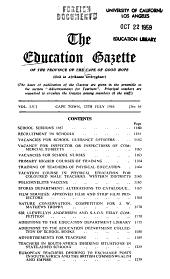 The Education Gazette PDF