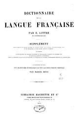 Dictionnaire de la langue française: et supplément, Volume5