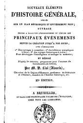Nouveaux éléments d'histoire générale redigés sur un plan méthodique et entièrement neuf: Volume2