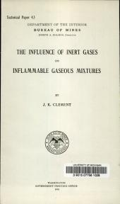 The influence of inert gases on inflammable gaseous mixtures