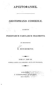 Aristohphais Comœdiæ: Volume 4, Part 3