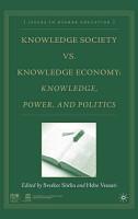 Knowledge Society vs  Knowledge Economy PDF