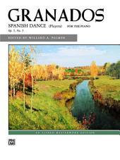 Spanish Dance: Early Advanced Piano Solo