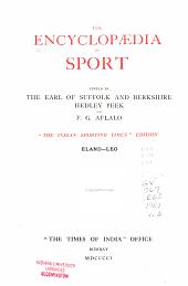 The Encyclopd̆ia of Sport: EL-LEO