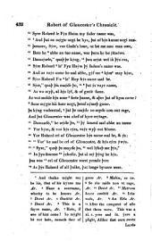 Robert of Gloucester's Chronicle
