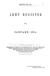 Official Army Register