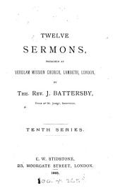 Twelve sermons: Volume 10