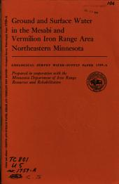 Geological Survey Water-supply Paper
