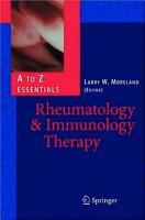 Rheumatology and Immunology Therapy PDF