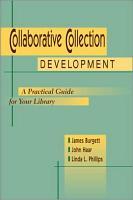 Collaborative Collection Development PDF