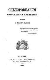 Chenopodearum monographica enumeratio