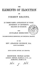 The Elements of Elocution and Correct Reading