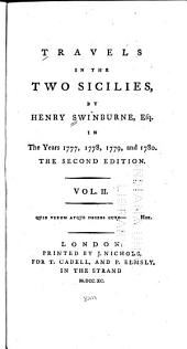 Travels in the Two Sicilies in the Years 1777, 1778, 1779, and 1780: Volume 2