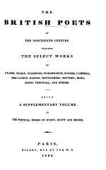 The British Poets of the Nineteenth Century