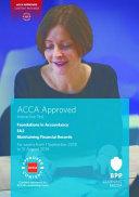FIA Maintaining Financial Records FA2