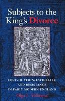 Subjects to the King s Divorce PDF