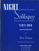 Night soliloquy PDF