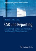 CSR und Reporting PDF