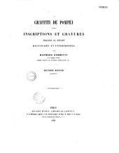 Graffiti de Pompei: inscriptions et gravures tracées au stylet