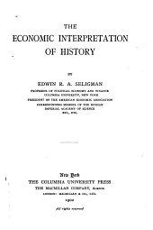 The Economic Interpretation of History