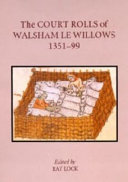 The Court Rolls of Walsham Le Willows  1351 1399 PDF