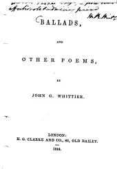 Ballads, and Other Poems
