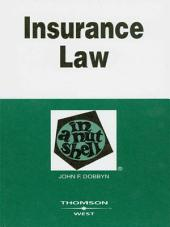 Insurance Law in a Nutshell, 4th: Edition 4