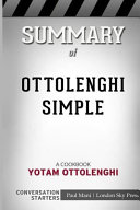 Summary Of Ottolenghi Simple Book PDF