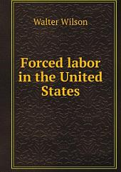 Forced labor in the United States