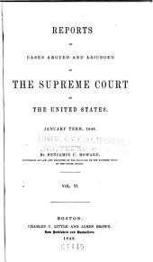 United States Reports: Cases Adjudged in the Supreme Court, Volume 47