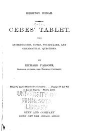 Cebes' Tablet