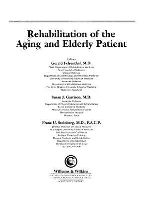 Rehabilitation of the Aging and Elderly Patient PDF