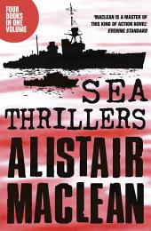 Alistair MacLean Sea Thrillers 4-Book Collection: San Andreas, The Golden Rendezvous, Seawitch, Santorini