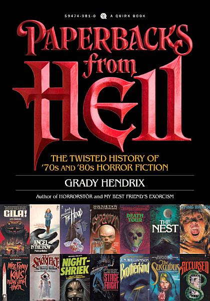 Download Paperbacks from Hell Book