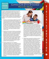Common Core State Standards: Math 6th Grade (Speedy Study Guides)