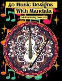 50 Music Designs with Mandala