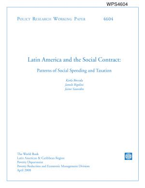 Latin America and the Social Contract