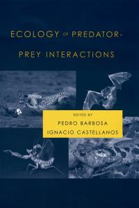 Ecology of Predator Prey Interactions Book