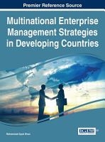 Multinational Enterprise Management Strategies in Developing Countries PDF