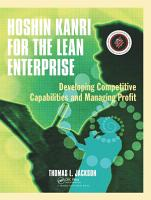 Hoshin Kanri for the Lean Enterprise PDF