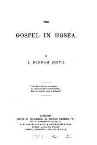 The gospel in Hosea PDF