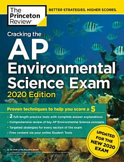 Cracking the AP Environmental Science Exam  2020 Edition Book