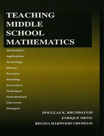 Teaching Middle School Mathematics PDF