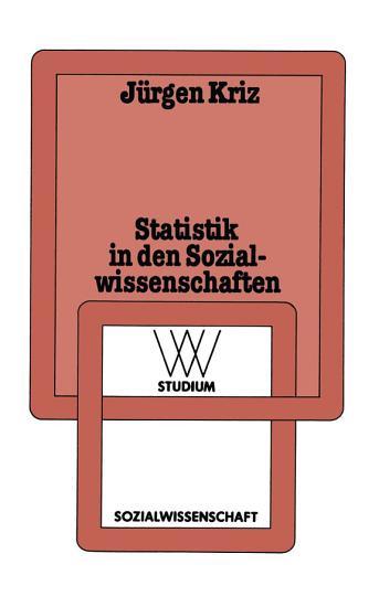Statistik in den Sozialwissenschaften PDF