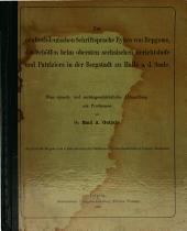 Zur neuhochdeutschen Schriftsprache Eykes von Repgowe, des Schöffen beim obersten sechsischen Gerichtshofe und Patriziers in der Bergstadt zu Halle a. d. Saale