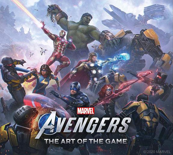 Marvel s Avengers   the Art of the Game PDF