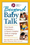Beyond Baby Talk PDF