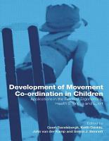 Development of Movement Coordination in Children PDF